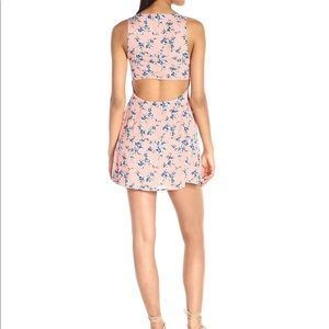 Lucca Couture Dresses - Lucca Cropped-Back Button-Front Dress